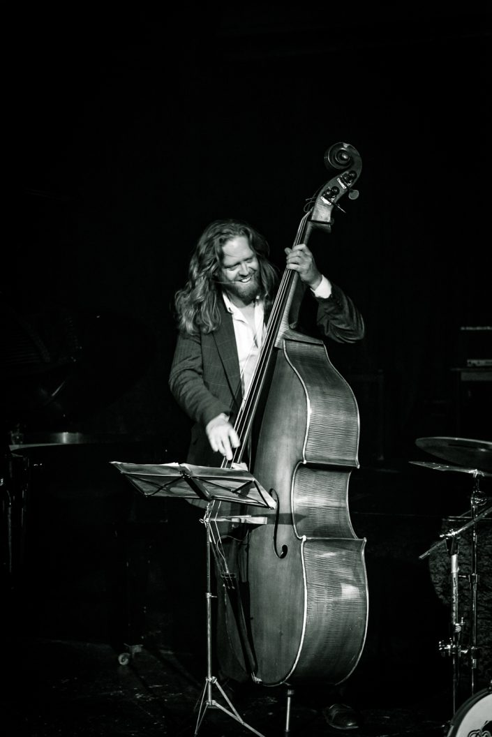 Andi Lang (bass) - Ben Kraef Quartett