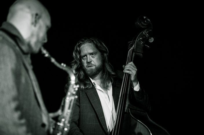Andi Lang (bass), Ben Kraef (ts)