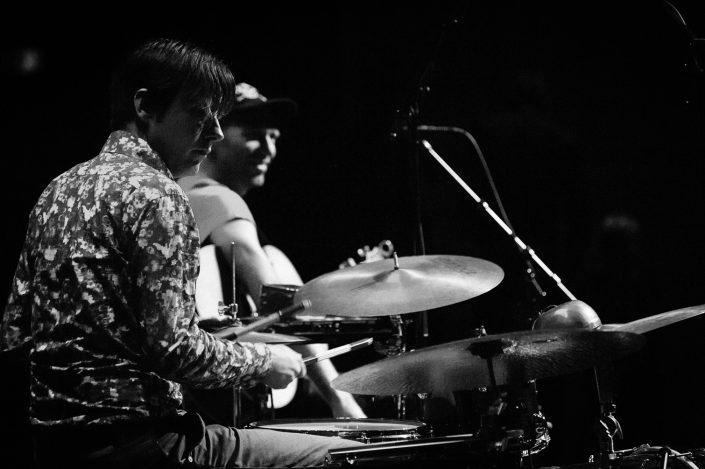 Edward Perraud (drums), Hasse Poulssen (guitar)-Das Kapital und Manic Cinema