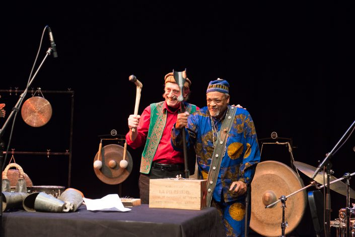 Famoudou Don Moye (drums), Hartmut Geerken (poetry, percussion, various instruments)