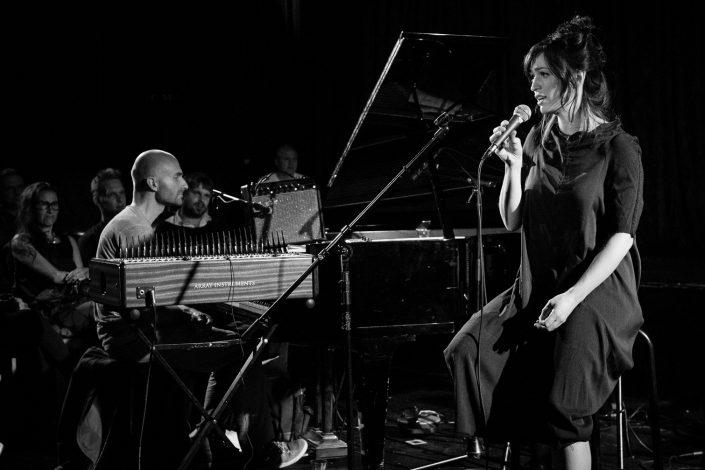 Ibadet Ramadani (voc), Niko Meinhold (Piano-Mbira-Perc)-IBADET RAMADANI BAND