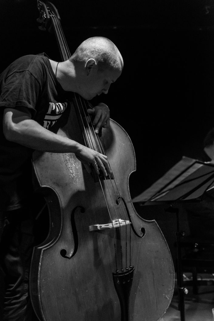 Petter Eldh (bass) - CHISHOLM-ELDH-KAUFMANN TRIO