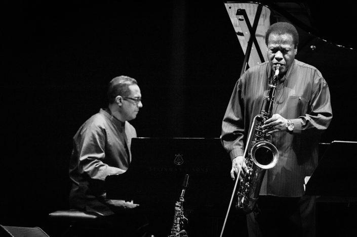 Danilo Perez (piano), Wayne Shorter (tenor - soprano sax)-Wayne Shorter Quartett