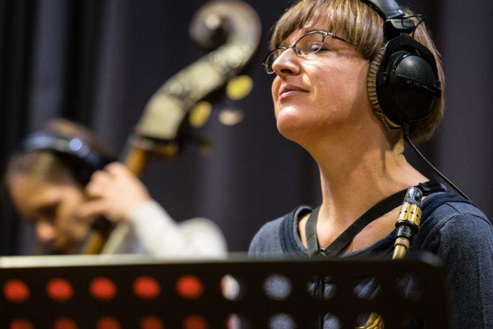 Silke Eberhard (Alt Saxophon - Klarinette)-Ternion Quartett