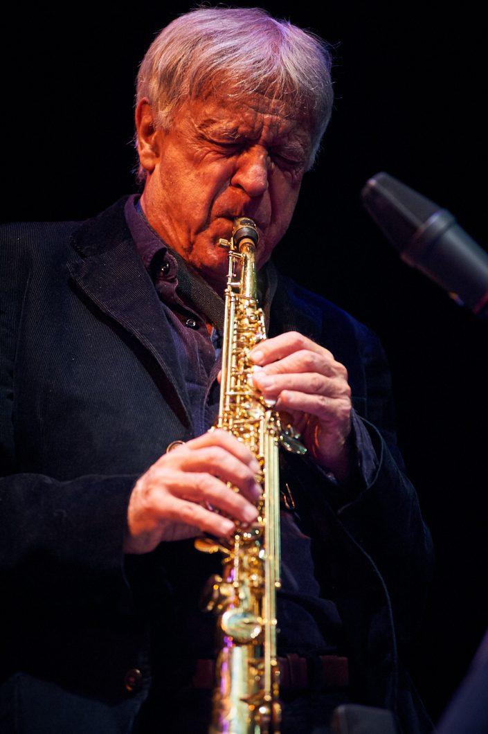 Michel Portal (b-cl / sax)