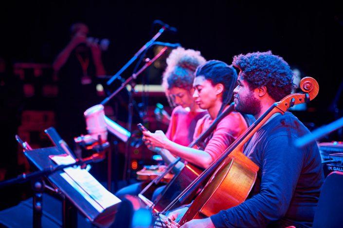 TOMEKA REID (cello), LESTER ST. LOUIS (cello)