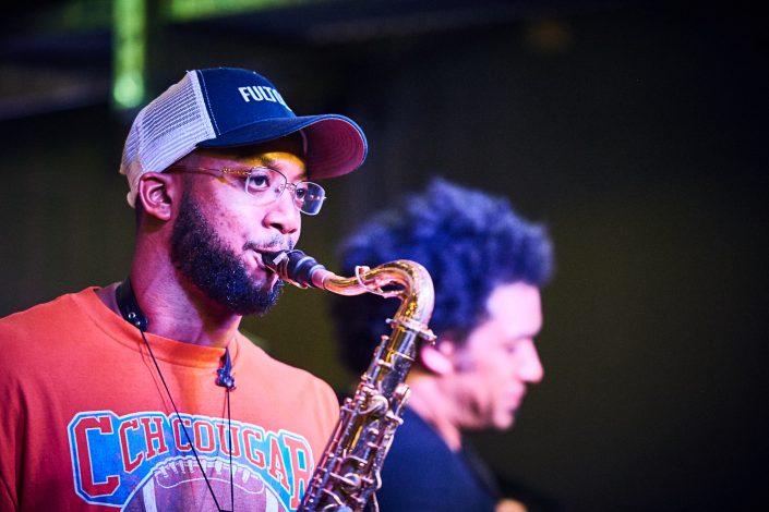 IRVIN PIERCE saxophone