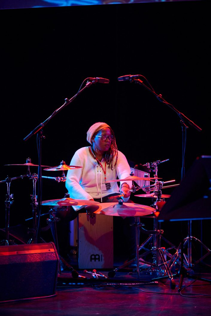JOVIA ARMSTRONG (percussion)