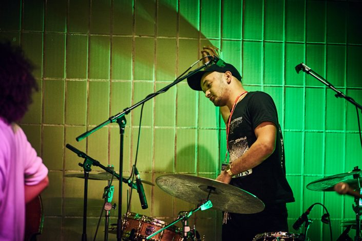 SAM JONES drums