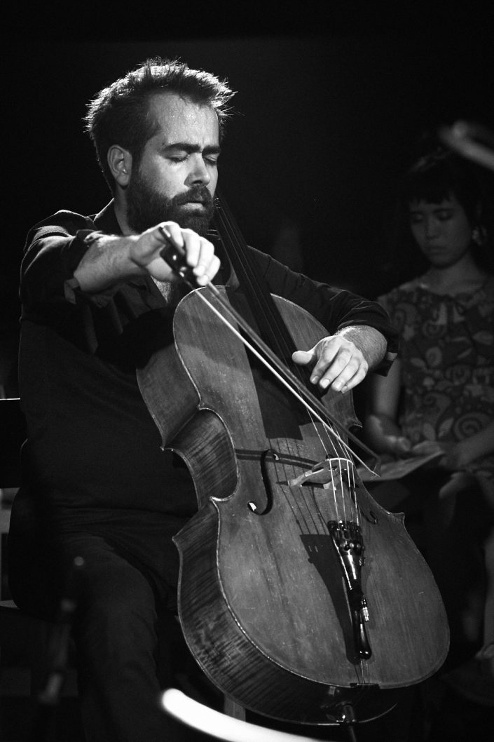 Anil Eraslan (cello) – EPONJ – bei Kollektive Nights 17