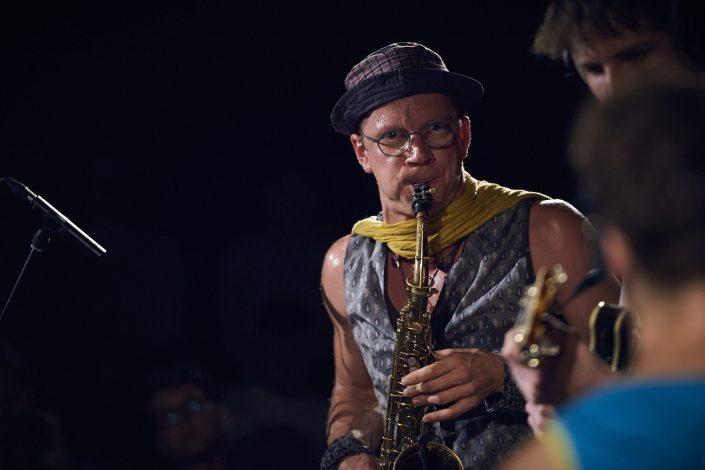 Paul Berberich (sax) – ZUR SCHÖNEN AUSSICHT – bei Kollektive Nights 17